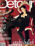 Sandra Bullock on the cover of Detour (United States) - February 1996