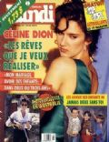 Céline Dion on the cover of Le Lundi (Canada) - November 1992