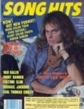 David Lee Roth on the cover of Song Hits (United States) - September 1984