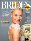on the cover of Brides (United Kingdom) - October 2013