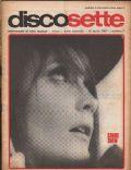 DiscoSette Magazine [Italy] (15 April 1967)