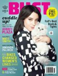 Aubrey Plaza on the cover of Bust (United States) - October 2012