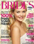 on the cover of Brides (United Kingdom) - January 2012