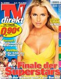 Michelle Hunziker on the cover of TV Direkt (Germany) - March 2004