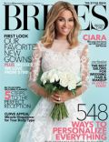 Ciara on the cover of Brides (United States) - August 2014