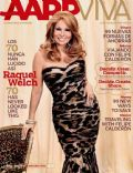 Raquel Welch on the cover of Aarp The Magazine (United States) - November 2011