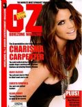 Charisma Carpenter on the cover of Gorezone (United Kingdom) - September 2010