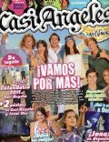 Gastón Dalmau, Juan Pedro Lanzani, María Eugenia Suárez, Mariana Espósito, Nicolas Riera on the cover of Casi Angeles (Argentina) - December 2010