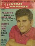 Michael Landon on the cover of TV Star Parade (United States) - August 1961