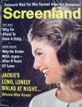 Jacqueline Kennedy on the cover of Screenland (United States) - June 1966