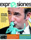 Jean Dujardin on the cover of Expresiones (Ecuador) - February 2012