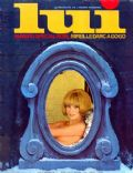 Mireille Darc on the cover of Lui (France) - December 1968
