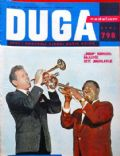 Danny Kaye on the cover of Duga (Yugoslavia Serbia and Montenegro) - March 1961