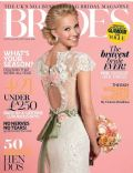 on the cover of Brides (United Kingdom) - May 2013