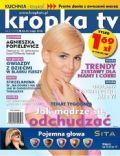 Agnieszka Popielewicz on the cover of Kropka TV (Poland) - May 2012