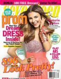 Victoria Justice on the cover of Seventeen Prom (United States) - December 2010