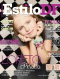 Loreto Peralta on the cover of Estilo Df (Mexico) - April 2014