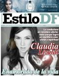 Claudia Lizaldi on the cover of Estilo Df (Mexico) - February 2012