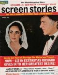 Elizabeth Taylor on the cover of Screen Stories (United States) - March 1970
