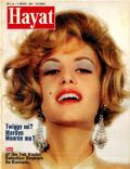 Twiggy on the cover of Hayat (Turkey) - August 1968