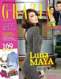 Luna Maya on the cover of Grazia (Indonesia) - September 2012