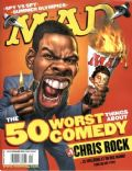 Chris Rock on the cover of Mad (United States) - September 2004
