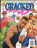 Jean-Claude Van Damme on the cover of Cracked (United States) - March 1995