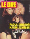 Le Ore Magazine [Italy] (10 April 1985)
