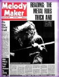 David Coverdale on the cover of Melody Maker (United Kingdom) - August 1980