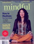 Sandra Oh on the cover of Mindful (United States) - April 2014
