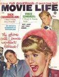 Connie Stevens, Glenn Ford, Glenn Ford and Connie Stevens, Troy Donahue on the cover of Movie Life (United States) - June 1962