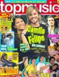 Camila Bordonaba, Felipe Colombo, Felipe Colombo and Camila Bordonaba on the cover of Top Music (Spain) - August 2007