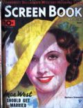 Barbara Stanwyck on the cover of Screen Book (United States) - September 1934