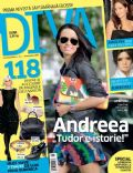 Andreea Raicu on the cover of Diva (Romania) - October 2008