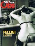 Télé Ciné Obs Magazine [France] (15 April 2010)