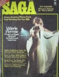 Valerie Perrine on the cover of Saga Magazine (United States) - May 1975