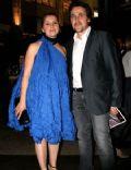 Mélanie Campeau (spouse) and Guy Lepage