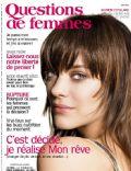 Questions De Femmes Magazine [France] (March 2010)