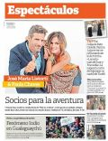 Paula Chávez on the cover of Clarin (Argentina) - April 2014