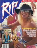 Vince Neil on the cover of Rip Magazine (United States) - July 1987