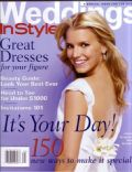Jessica Simpson on the cover of Instyle Weddings (United States) - March 2003