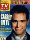 Candice Bergen, Jim Carrey on the cover of TV Guide (United States) - May 1996
