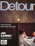 Jim Carrey on the cover of Detour (United States) - November 2002