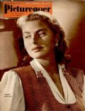 Ingrid Bergman on the cover of Picturegoer (United Kingdom) - May 1950