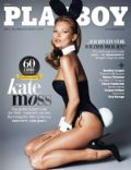 Kate Moss on the cover of Playboy (Germany) - February 2014