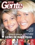 Bruno Gagliasso, Camila Rodrigues, Ellen Jabour, Luiza Brunet, Sasha Meneghel, Xuxa Meneghel on the cover of Isto E Gente (Brazil) - May 2008