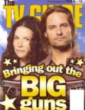 Evangeline Lilly, Josh Holloway, Josh Holloway and Evangeline Lilly on the cover of TV Guide (New Zealand) - February 2010