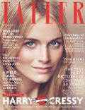 Cressida Bonas on the cover of Tatler (United Kingdom) - October 2013