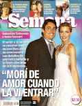Ivana Saccani, Sebastián Estevanez on the cover of Semana (Argentina) - November 2004