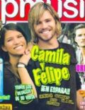 Camila Bordonaba, Felipe Colombo, Felipe Colombo and Camila Bordonaba on the cover of Other (Spain) - August 2007